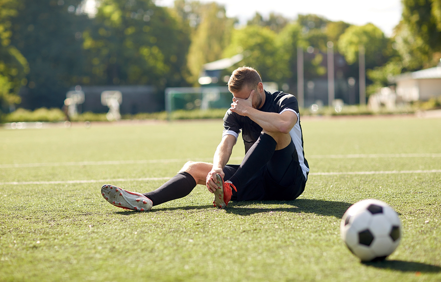 Have you ever experienced injuries or discomfort from playing sports?
